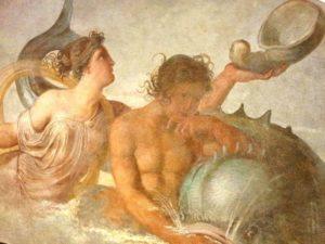 Naiade e Tritone Francesco Hayez