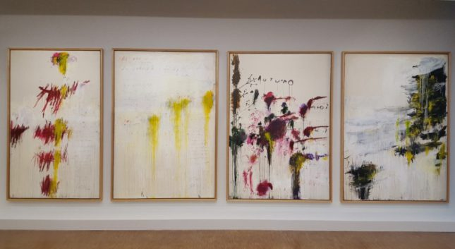 Le quattro stagioni - Twombly